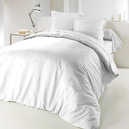 Douceur Du0027Intérieur LINA Housse De Couette Coton Blanc 240 X 220 Cm