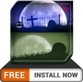 Spooky Graveyard HD - Decor your Halloween Party with Creepy Horror TV Theme