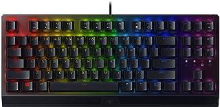 Razer BlackWidow V3 Tenkeyless Mechanical Gaming Keyboard: Razer Mechanical Switches - Chroma RGB Lighting - Compact Form ...