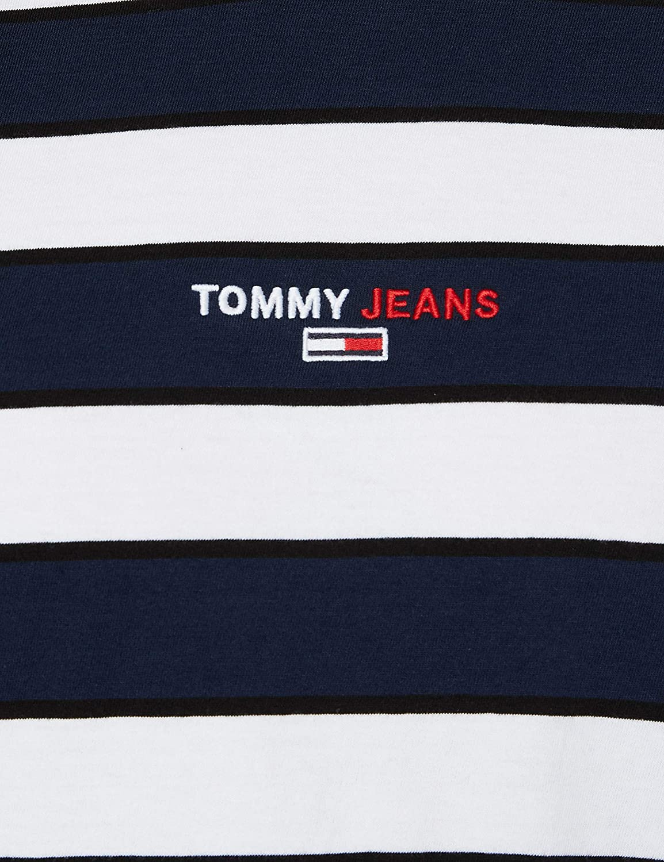 Tommy Hilfiger TJM Small Text Stripe tee Camisa para Hombre