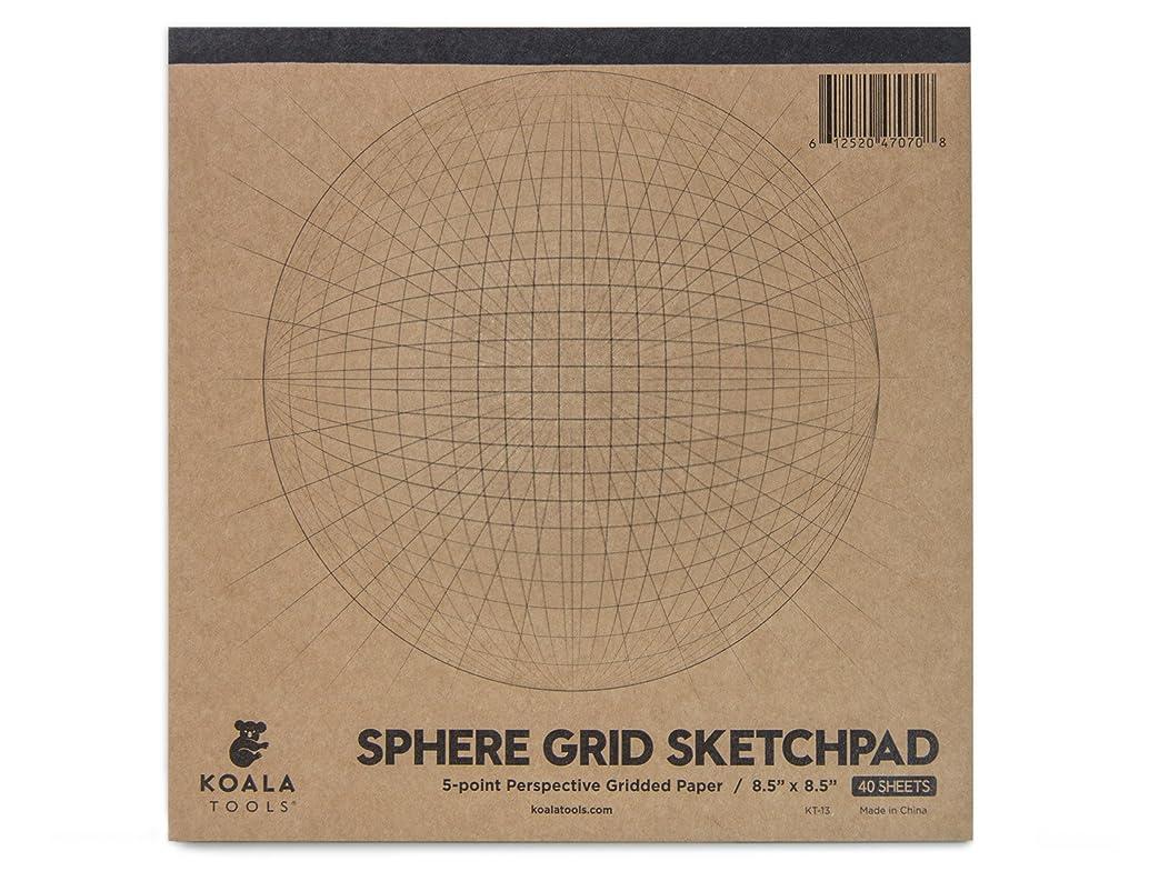 Koala Tools | Sphere Grid (5-point) Perspective Drawing Handbook | 8.5