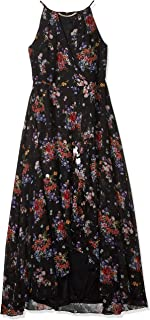 Sangria womens Plus Size High-Low Maxi Dress Special Occasion Dress