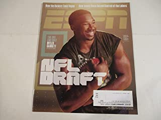 APRIL 24, 2017 ESPN MAGAZINE FEATURING THE ONE AND ONLY MYLES GARRETT -BY SAM ALIPOUR* *NFL DRAFT* *HOW THE RAIDERS TOOK VEGAS -BY DON VAN NATTA JR. AND SETH WICKERSHAM*