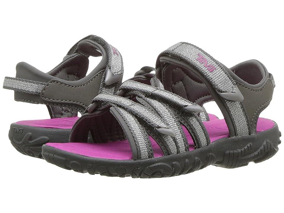 Teva Kids Tirra (Toddler) (Silver/Magenta) Girls Shoes