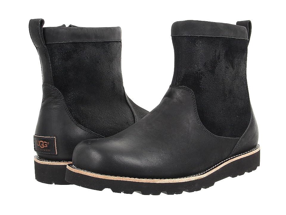 UGG Hendren TL (Black Leather) Men