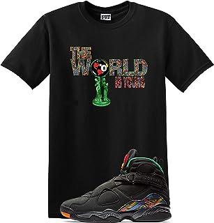 2de75547fabaa7 We Will Fit World Shirt Jordan Retro 8 Tinker AIR RAID Concord Aloe