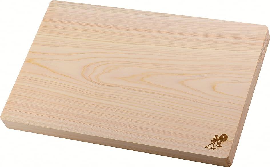 MIYABI ミヤビ 「 ヒノキカッティングボード 40×25cm」 まな板  34535-300