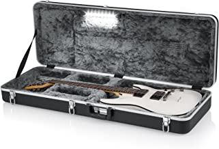 Gator Cases Deluxe Molded Case for Electric Guitars with Internal LED Lighting (GC-ELECTRIC-LED)