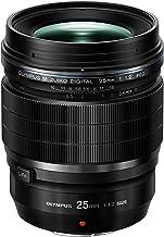Olympus M.Zuiko - Objetivo digital ED 25 mm 1:1.2 PRO, apto para todas las cámaras MFT (modelos olympus OM - D & Pen, serie G de Panasonic), negro