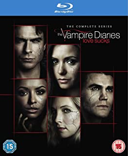 Vampire Diaries - Season 1-8 [Blu-ray] [2017] [Region Free]