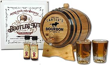 Personalized Kentucky Bourbon Whiskey Making Bootleg Kit (1 Liter) - Age Spirits in an Oak Barrel - Perfect Bourbon Gifts ...