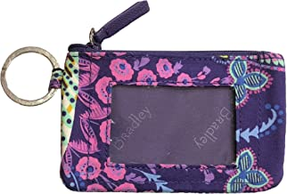 Vera Bradley Women's Zip ID Case (Batik Leaves)