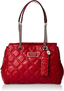 GUESS Womens Lolli Satchel Handbag