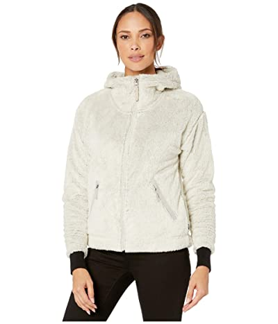 The North Face Furry Fleece Hoodie (Vintage White/Dove Grey) Women