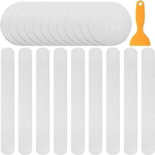 impermeabili HANGNUO 20 pezzi adesivi da parete e adesivi da parete adesivi antiscivolo per vasca da bagno