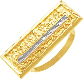 AMZ Jewelry Childrens 10k Tri Color Gold Figaro Link ID Bracelet with Guadalupe 6.5 in