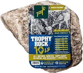 TROPHY ROCK Redmond All-Natural Mineral Rock/Salt Lick, Attract Deer and Big Game