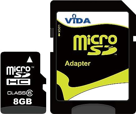 Nouva Vida IT 8GB Micro SDHC Scheda di Memoria per il Cellulare BlackBerry - Curve 8980 - Curve 9220 - Curve 9320 - Curve 9350 Tablet PCs - Garanzia a vita limitata - con Adattatore SD - Trova i prezzi più bassi