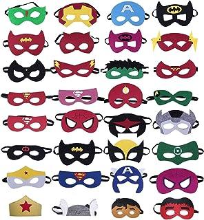 mascaras para niños y niñas
