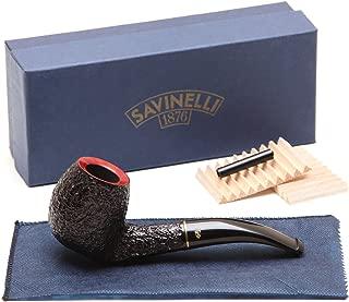 Savinelli Roma KS Briar Pipe 677 Black Stem Tobacco Pipe