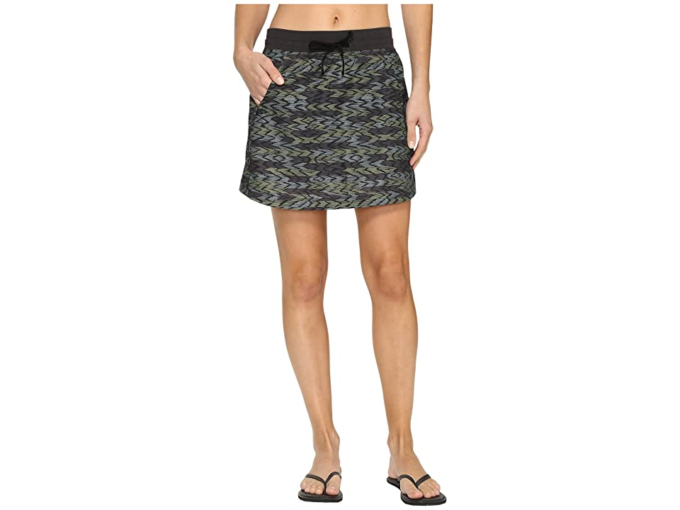 The North Face Class V Skort (Graphite Grey Painted Ikat Print (Prior Season)) Women