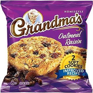 Grandma's Oatmeal Raisin Cookie - 2 cookies per pk. - 60 ct. - (Original from manufacturer - Bulk Discount available)