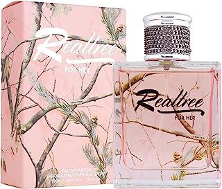 Realtree Eau de Parfums Spray for Her, 3.4 Fluid Ounce