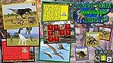Niños rompecabezas dinosaurio Rex - forma educativa y juego infantil adecuado para niños y niñas del niño y joven pre escolar