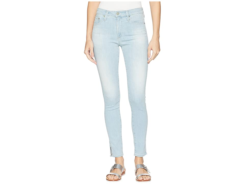 AG Adriano Goldschmied Farrah Ankle in 20 Year Sutro (20 Year Sutro) Women's Jeans, Blue