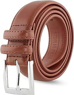 Leather Belts For Men - Mens Brown & Black Belt - Dress Casual Men's Belt in Gift Bag