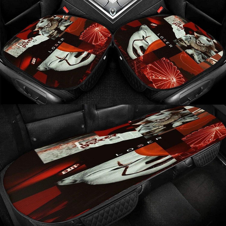 Regular dealer P-ennywise Three-Piece Set of Car Ice Silk Gorgeous Cushion 3D Three-Dime