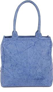 Bolso de tela para mujer azul Enamel Blue