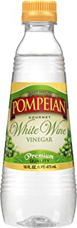 Pompeian Gourmet White Wine Vinegar, Bright and Fresh Flavor, Perfect for Salad Dressings, Shellfish and Sauces, Naturally...