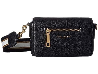 Marc Jacobs Gotham Crossbody (Black) Handbags