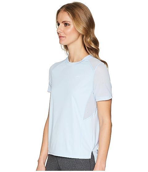 Camiseta running de Tint Miler manga Nike Royal corta de Dry rqr5wHxd