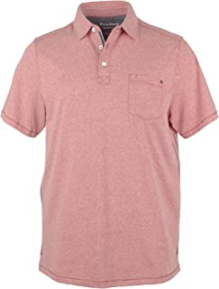Tommy Bahama Men`s Bodega Beach Polo Shirt Short Sleeve Island Zone Shirts