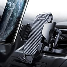 DesertWest Air Vent Car Phone Mount Cell Phone Holder Easy One Touch Compatible with iPhone Samsung Galaxy LG Google Huawei and More