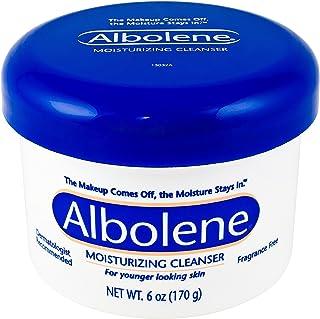Albolene Moisturizing Cleanser Unscented 6 oz (Pack of 2)