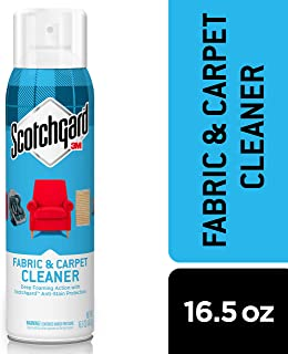 Scotchgard Fabric & Carpet Cleaner, 1 Can, 16.5 Ounces