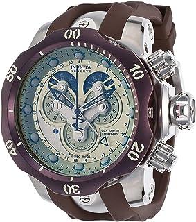Men's 14461 Venom Analog Display Swiss Quartz Brown Watch