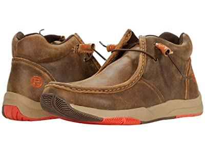 Roper Clearcut (Tan Distressed Leather Upper) Men