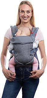 You+Me 4-in-1 babydrager met 3D-Cool Mesh – voor pasgeborenen vanaf 3,6 kg en peuters tot 14,5 kg