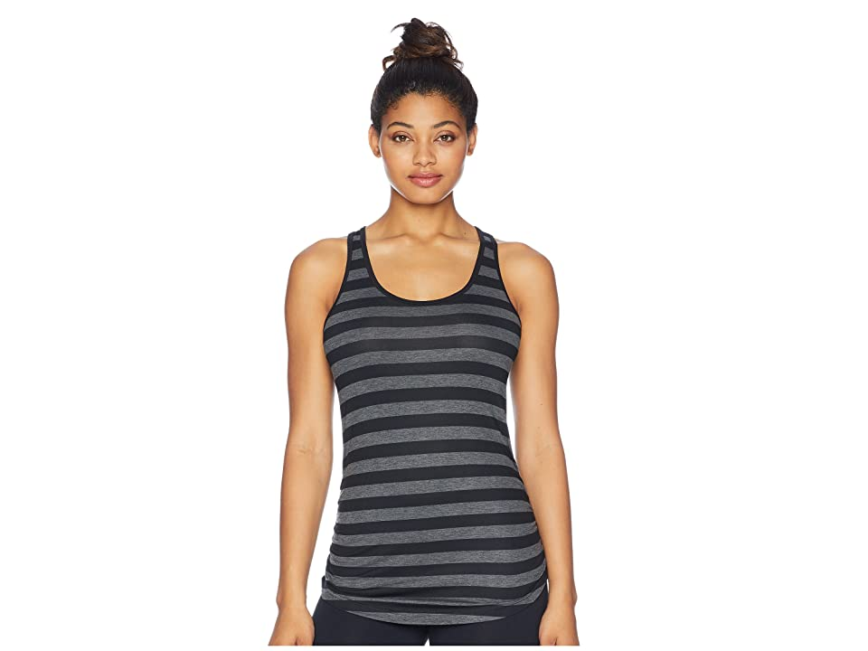 New Balance Printed Transform Tank Top (Black Multi/Black/Charcoal) Women