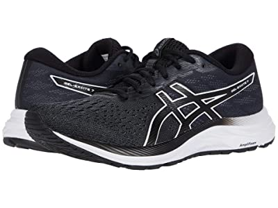 ASICS GEL-Excite(r) 7 (Black/White) Women
