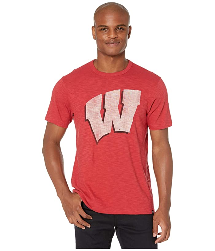 Wisconsin Badgers Grit Scrum Tee Rescue Red
