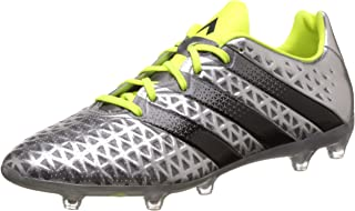 adidas Performance Mens Ace 16.2 Firm Ground Football Soccer Boots - Silver