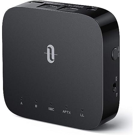 Bluetooth トランスミッター レシーバー TaoTronics 【光デジタル Type-C 24時間再生】 aptx-LL 低遅延 Bluetooth 5.0 受信機 送信機 2台同時接続 一台二役 小型 (テレビ/Nintendo Switch対応) TT-BA09 Pro