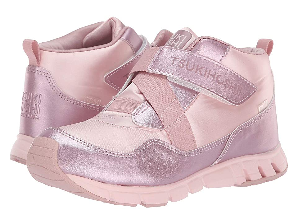 Tsukihoshi Kids Tokyo (Little Kid/Big Kid) (Pink/Rose) Girls Shoes