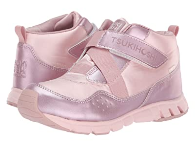 Tsukihoshi Kids Tokyo (Little Kid/Big Kid) (Pink/Rose) Girls Shoes