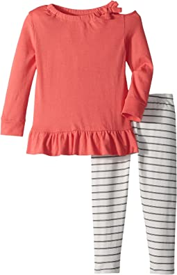 Splendid Littles Cold Shoulder Top Set (Toddler)